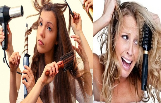 Top Ten Harmful Habits You Are Damaging Your Hair With