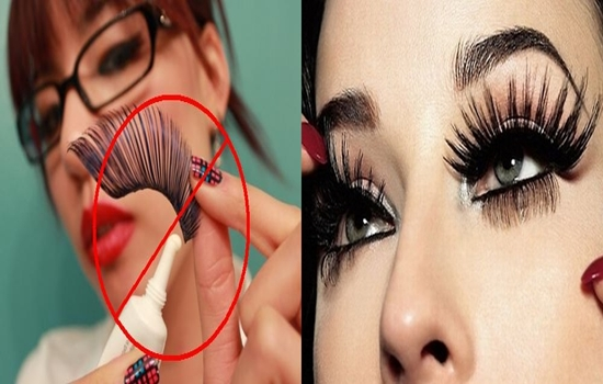Tips On How To Easily Apply False Eyelashes Professionally