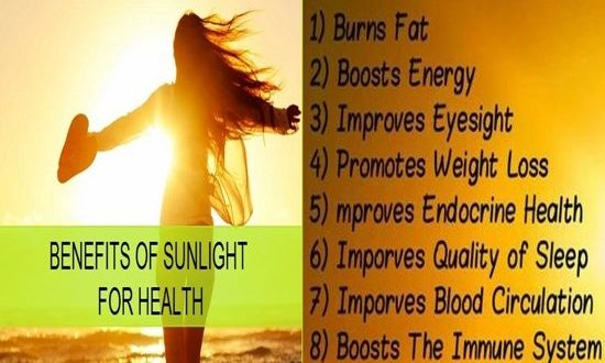 Health Benefits Of Sunlight