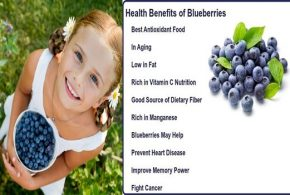 Top Five Health Benefits Of Blueberries