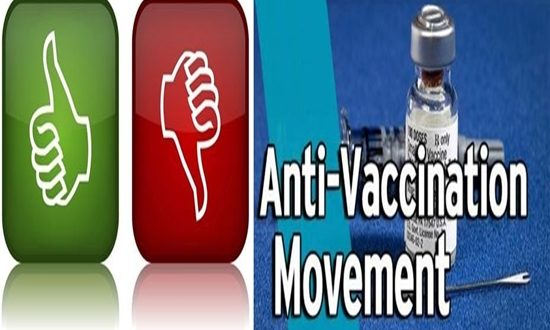 Are you for or against anti- vaccination movement