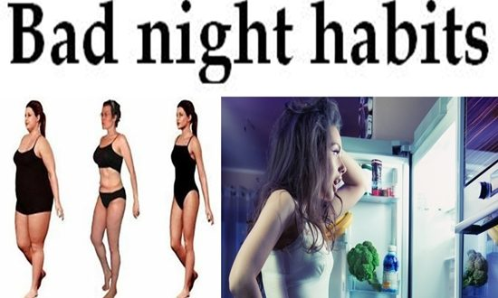 Bad night habits