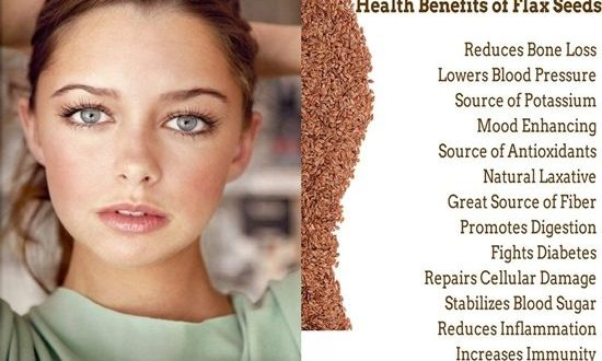 Beauty Health Benefits Of Flaxseed