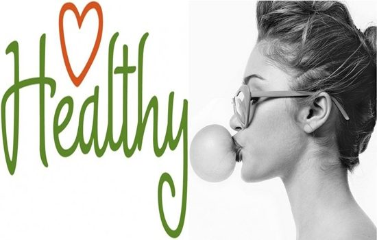 chewing sugarless gum important for your health