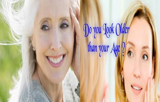 look older than your age
