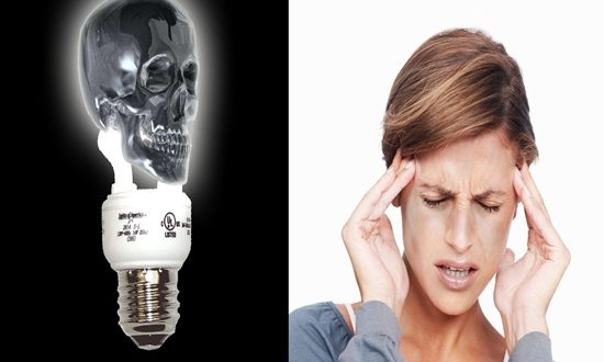 Fluorescent Lights Affect Your Health Cancer and Migraines