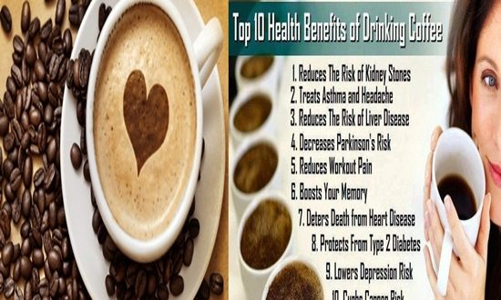 Health Benefits Of Coffee, Good For Your Heart, Brain And Liver