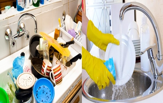 The Best Healthy Ways to Clean the Dishes