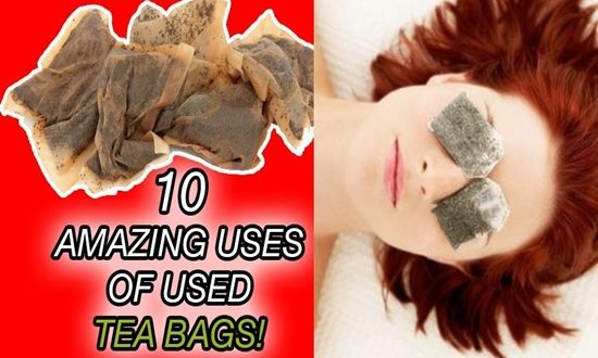 Used Tea Bags and Benefit from Their Astonishing UsesUsed Tea Bags and Benefit from Their Astonishing Uses