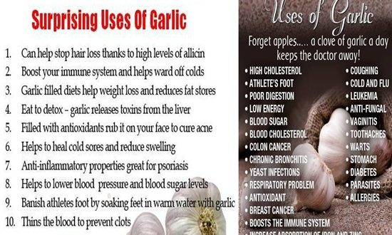 Garlic, Surprising Uses Of Garlic