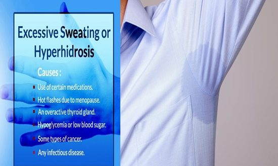 MEDICAL CAUSES FOR EXCESSIVE SWEATING