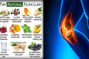 Three Natural Pain Killers To Control Inflammations Pain