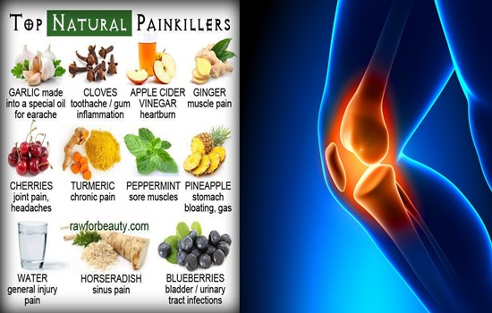 Natural Pain Killers To Control Inflammations Pain