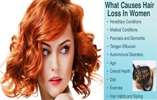 Some real facts and reasons for women's hair loss
