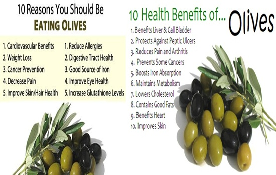 KNOW THE AMAZING HEALTH BENEFITS OF OLIVES