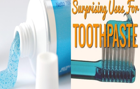 uses of toothpaste you can't imagine