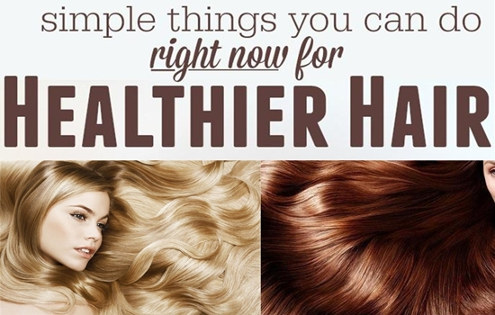 tips for a healthy hair