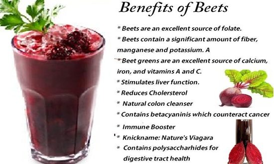BEETS ARE CONSIDERED ONE OF THE WORLD'S HEALTHIEST FOODS
