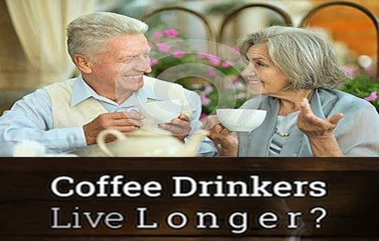 COFFEE DRINKERS MORE LIKELY LIVE LONGER