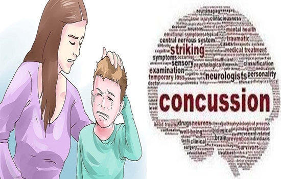 CONCUSSION, IF YOUR CHILD GETS A HARD HIT IN THE HEAD