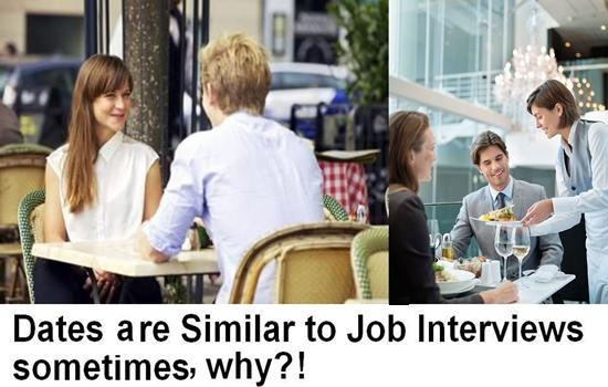 Dates Are Similar to Job Interviews