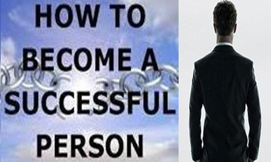 habits to be a successful person