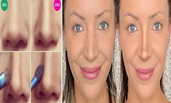Hacks to make your nose smaller