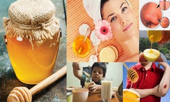 Homemade treatments from honey