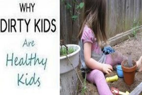 WHY SHOULD YOU LET YOUR KIDS PLAY IN THE DIRT?