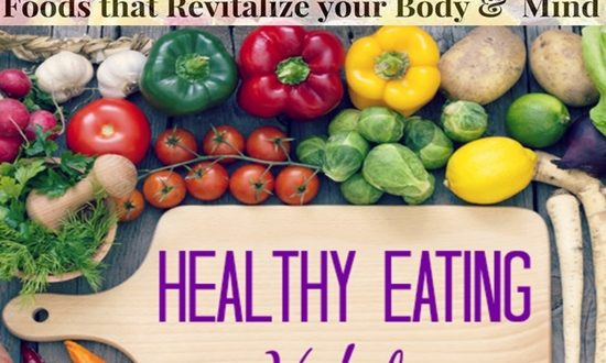 REVITALIZING FOODS FOR BODY AND BRAIN