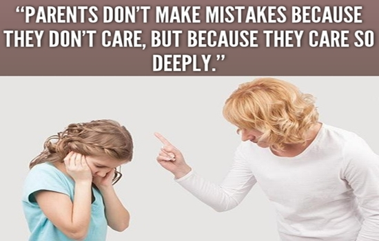 THE BIG MISTAKES PARENTS SHOULD NOT DO