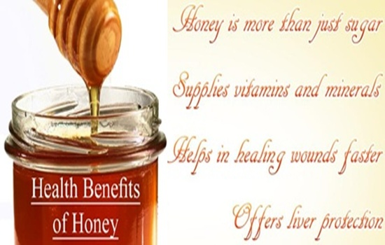 THE HEALTH BENEFITS OF HONEY