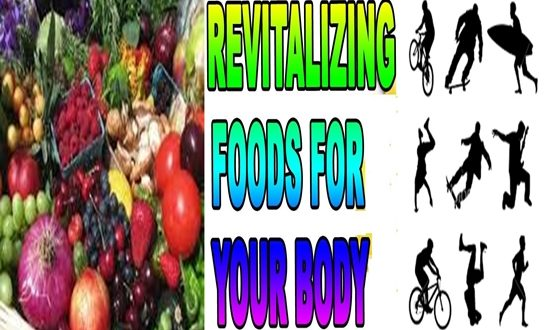 THE REVITALIZING FOODS FOR BODY AND BRAIN
