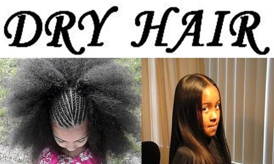 TURN YOUR DRY HAIR INTO HEALTHY HAIR