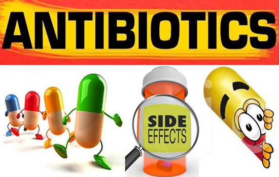 The unwanted side effects of antibiotics are far- reaching