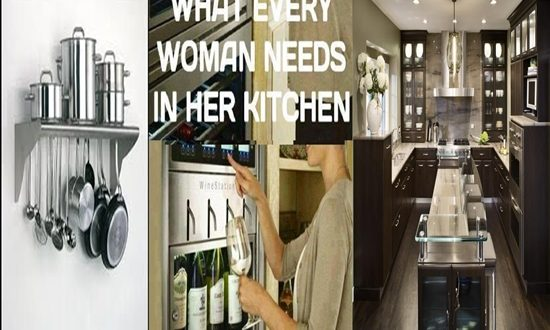 Things Women Need and Should Have in Their Kitchens