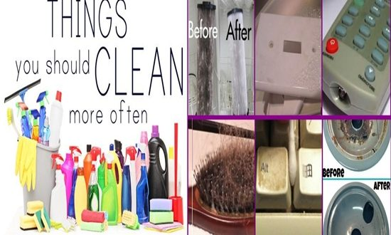 Things You Should Clean but Most Likely Don't