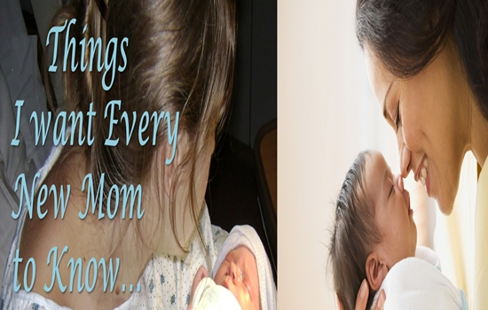 Things You Should Tell Yourself As a New Mom