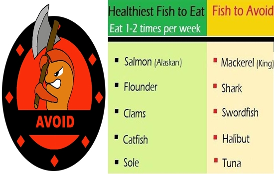 Types of Fish You Should Avoid at All Costs
