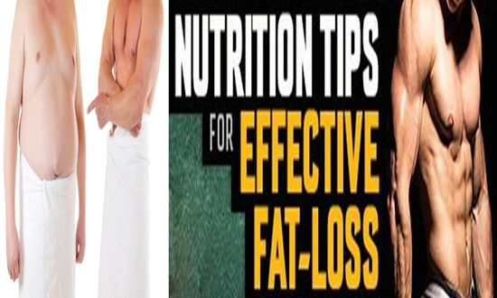 effective advices for losing body fats