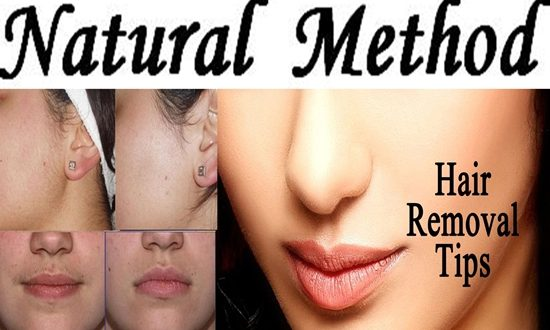 natural methods for removing facial hair