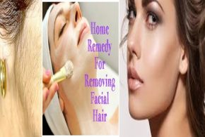 Tips for removing facial hair naturally