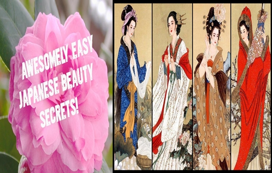 secrets for the beauty of Japanese women