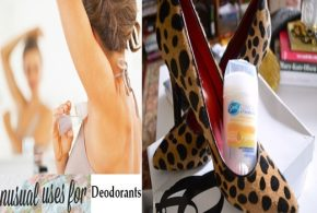 6 Unusual-But-Amazing Uses for Deodorants