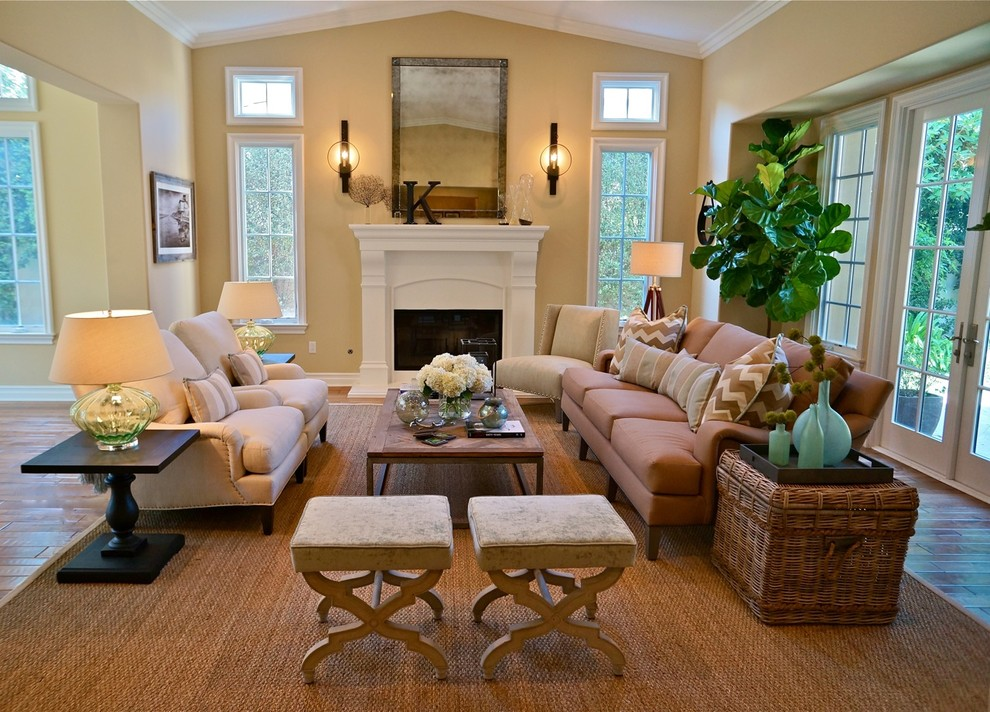 Breezy beach living room decorating ideas for the new year for Beach decorating ideas for living room