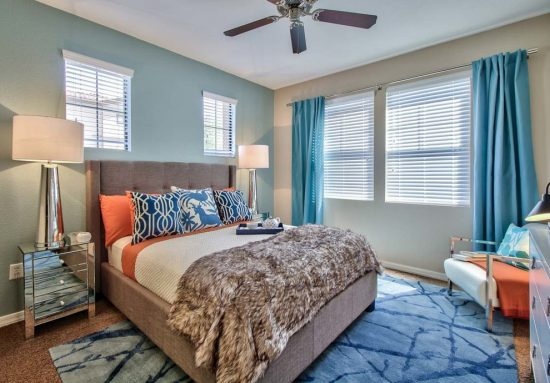 Create your dream bedroom décor by adding amazing colors