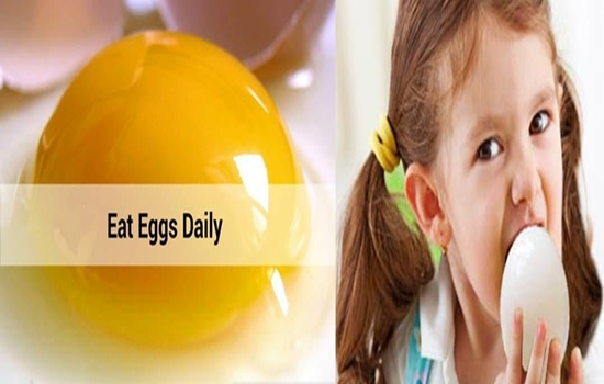 Eat Eggs Daily