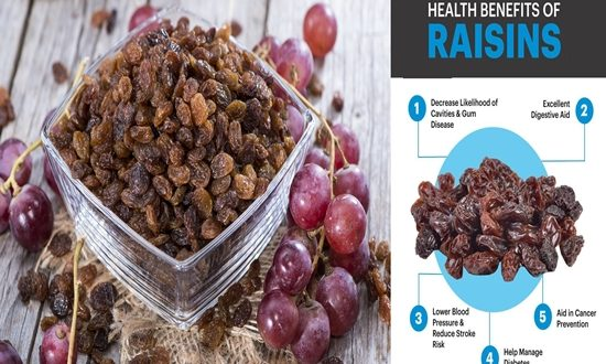 Eat Raisins To Improve Your Health.