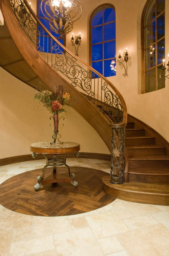 Enhance your home look with a luxurious staircase design to welcome 2016 midcentury-staircase