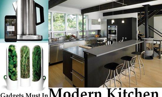 Gadgets In The Modern Kitchen